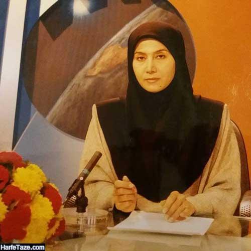 عکس های دهه شصتی و دهه هفتادی مهناز شیرازی گوینده خبر شبکه دو