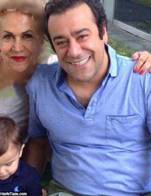 عکس های جدید منصوره کاتبی و همسر و فرزندانش