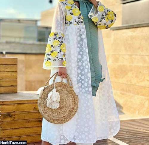 مدل مانتو اسرت زنانه جدید با تن خوری زیبا
