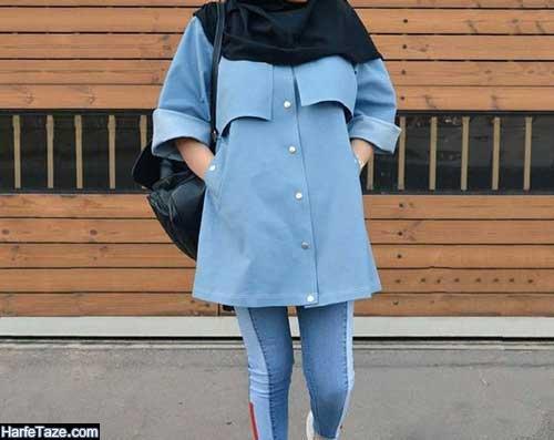 مدل مانتو کتی اسپرت برای مراسم رسمی