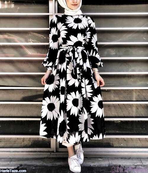 مدل مانتوهای خنک تابستان 1399 گلدار دخترانه