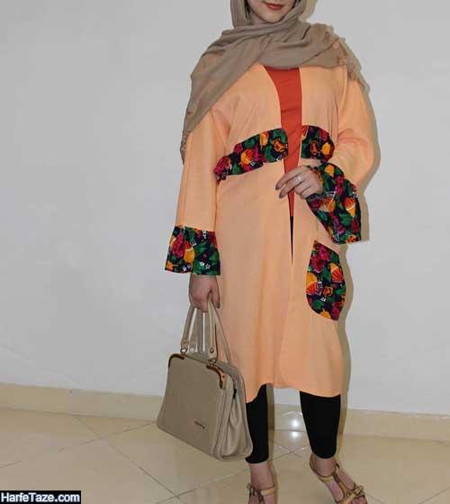 مدل مانتو سنتی تابستانی کتی دخترانه