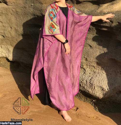 مدل مانتو لاکچری سنتی برای دختران فشن و پلنگ
