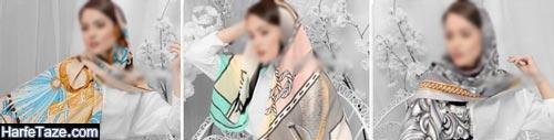 روسری تابستانه | جدیدترین مدل روسری های شیک و زیبای تابستانی ویژه ۹۹