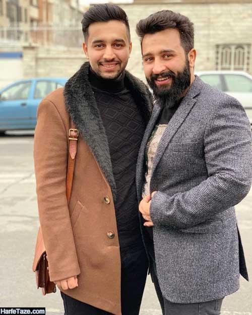عکس های خانواده و مهران برادر مدریک