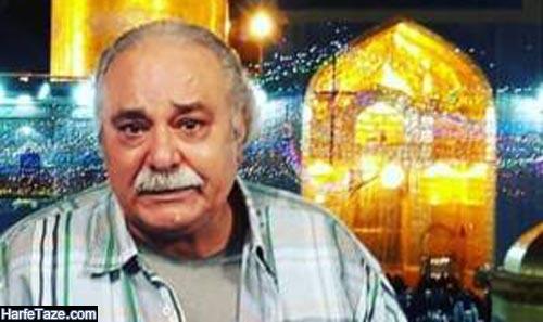 محمد کاسبی در حرم امام رضا