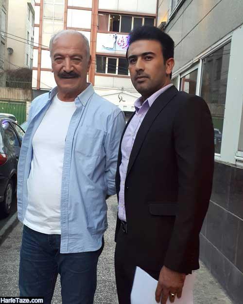 عکس های جدید مرتضی رحیمی و همسرش