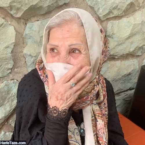 عکس مادر بزرگ پویان جناتی خواننده