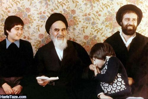 عکس خندان امام خمینی برای پروفایل