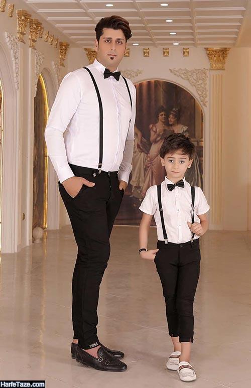 ست پدر پسری ۹۹ | جدیدترین مدل های ست لباس پدر پسری ویژه ۹۹ + نکات ست کردن