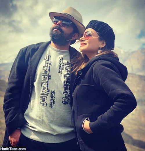 عکس های جدید شاهد احمدلو و همسرش