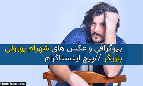 بیوگرافی شهرام پورولی بازیگر نقش حامد در سریال پرگار + عکس جدید و فیلم شناسی