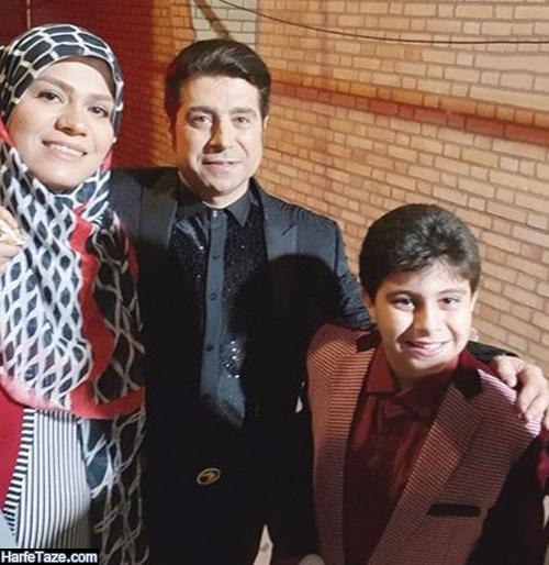 عکس های جدید شاهرخ رضایی شعبده باز و همسرش