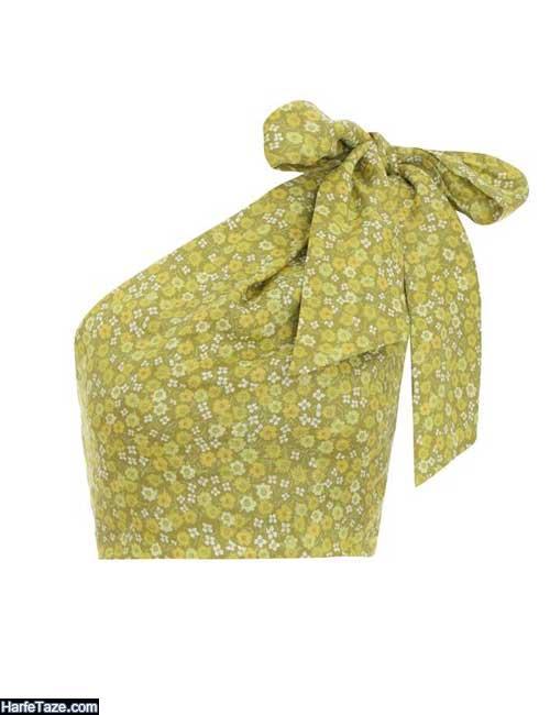 تاپ شومیز دخترانه یقه کراواتی