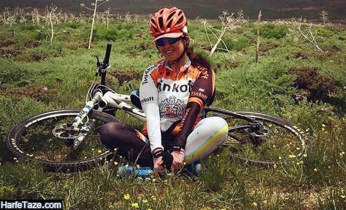 درگذشت و نحوه تصادف ونوس زرین خاک دوچرخه سوار