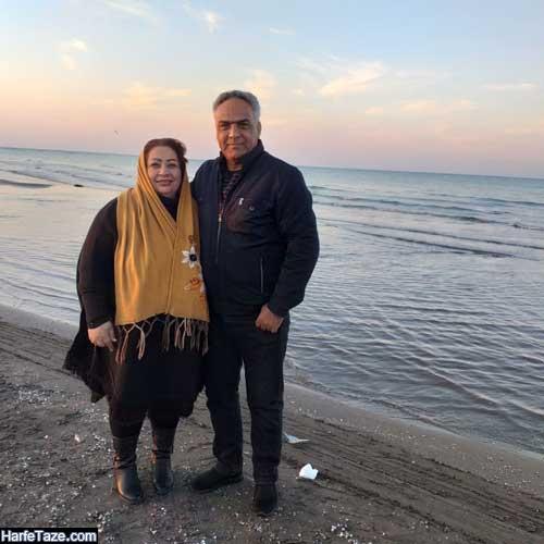 عکس های جدید زهره فوده بازیگر و همسرش