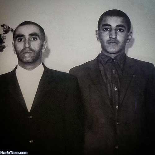 عکس احمد متوسلیان و پدرش