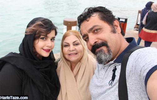 عکس خانواده و پدر و مادر آوا کاوری