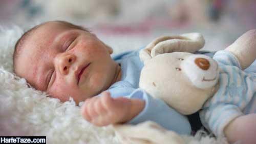 نحوه درمان جوشهای صورت و بدن نوزادان در خانه