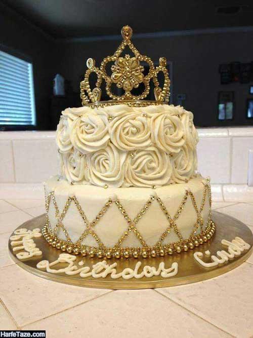شیکترین مدل کیکهای تولد دخترانه پرنسسی
