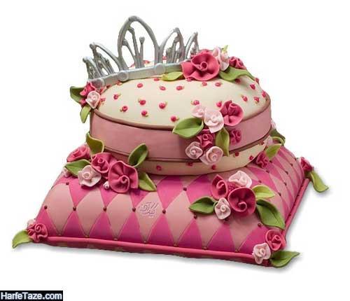 عکس از کیکهای تولد تاج دار ۹۹