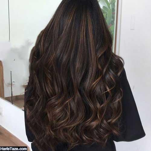 رنگ موی ترکیبی با دکلره