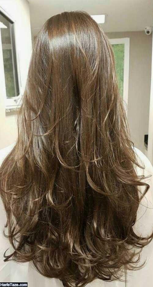 مدل مش و رنگ موی دخترانه جدید