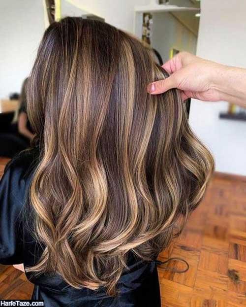 نمونه های جدید رنگ موی ۹۹