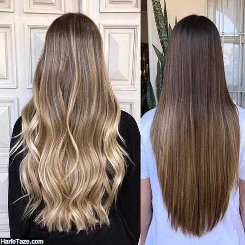 رنگ موی ترند سال ۲۰۲۰