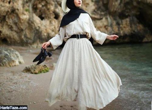 جدیدترین مانتوی ساحل شیک ایرانی