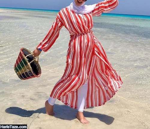 مانتو ساحلی زنانه ۲۰۲۰ - ۹۹