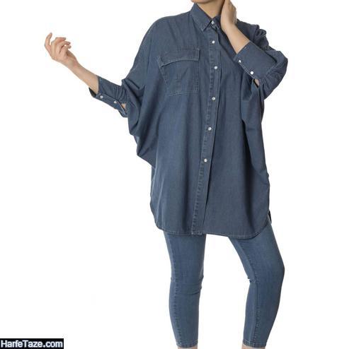 مدل مانتوی طرح لی کاغذی دخترانه کیمونو