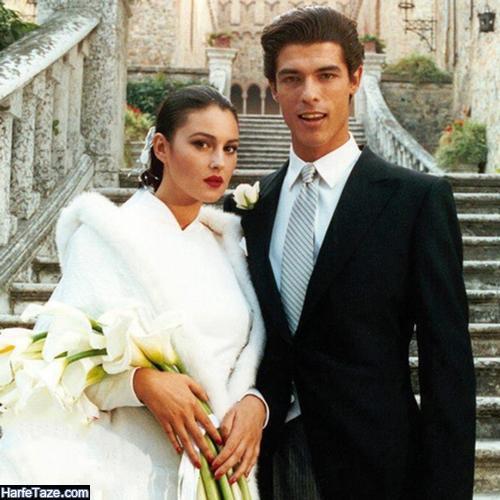 کلودیا کارلوس کاسو همسر اول مونیکا بلوچی