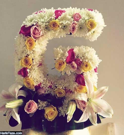 عکس گل با حروف انگلیسی g
