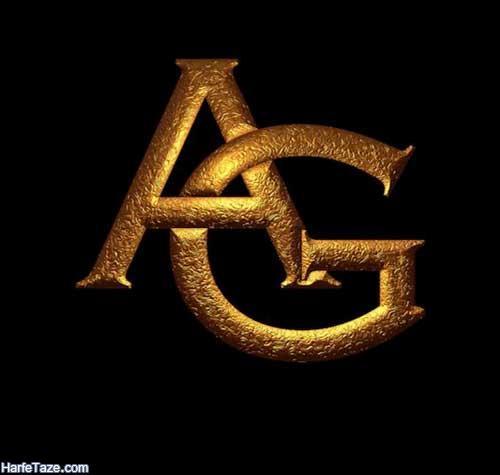 عکس با حروف انگلیسی gA