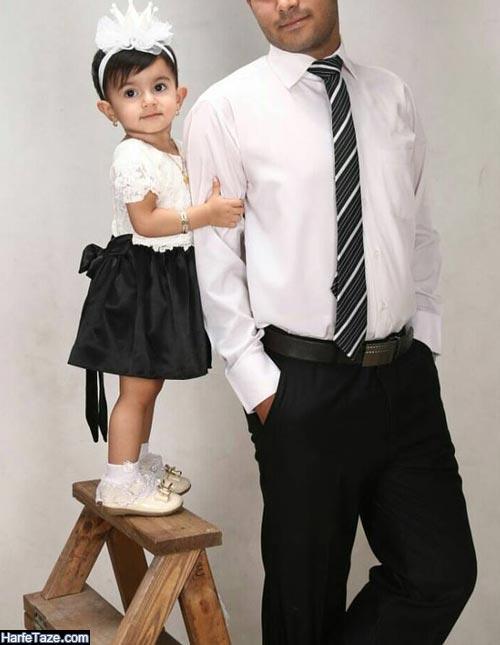 ست پدر دختری | جدیدترین مدل های ست لباس پدر دختری ویژه ۹۹ + نکات ست کردن