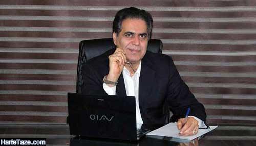 عکس و بیوگرافی احمد حلت کارشناس تلویزیون