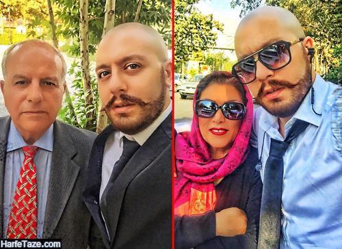 عکس پدر و مادر امیررضا میرآقا بازیگر و خواننده