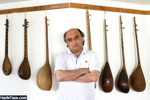 عکس محمدرضا درویشی آهنگساز پدر آوا درویشی