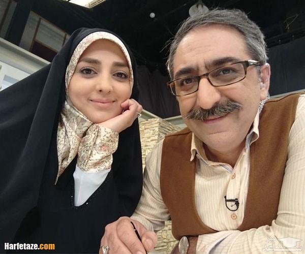 شهرام شکیبا بازیگر با خانمان