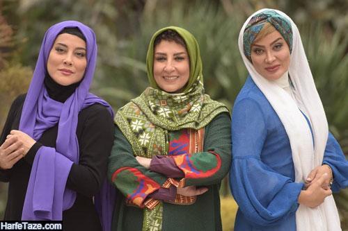 عکس و سوابق زهرا جهرمی بازیگر نقش مینا در موچین