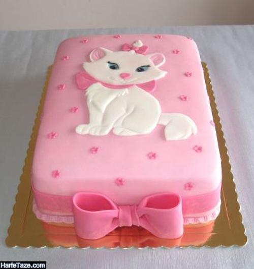 مدل کیک کیتی مستطیلی