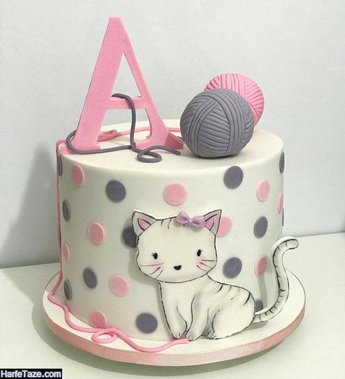 شیک ترین مدلهای کیک تولد کیتی دخترانه