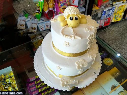 عیدی عروس برای عید قربان 2021 | جدیدترین مدل کیک و تزیین عیدی عروس در عید قربان