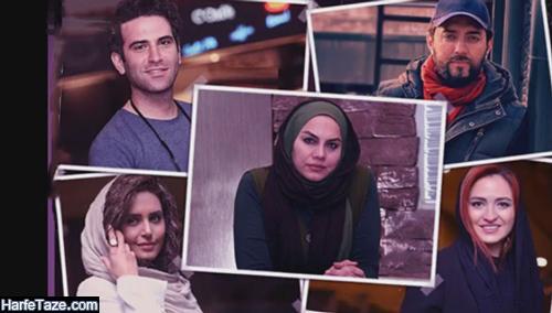 اسامی و بیوگرافی بازیگران فیلم ابلق + عکس