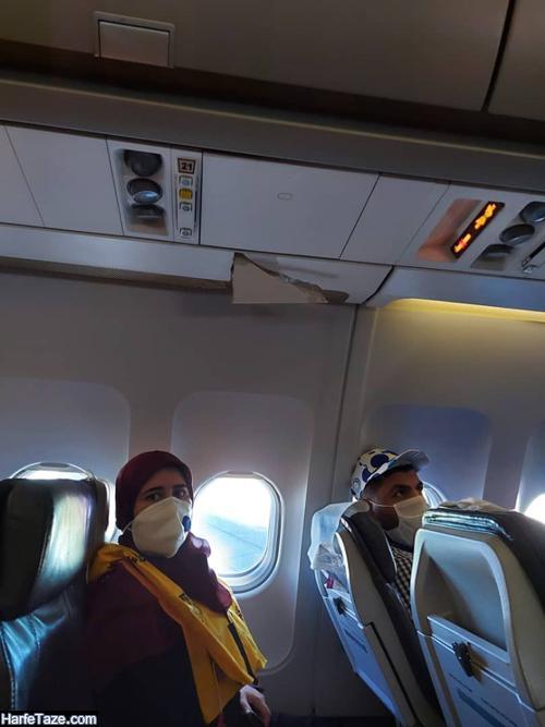 ماجرای بازداشت خلبان پرواز 1152 تهران بیروت ماهان