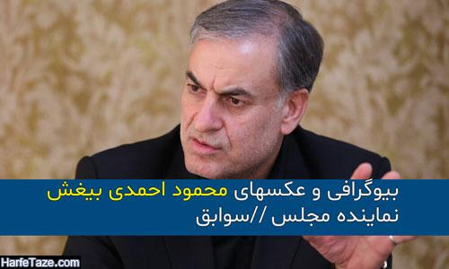 بیوگرافی و سوابق محمود احمدی بیغش نماینده مجلس و همسرش + زندگینامه و حواشی
