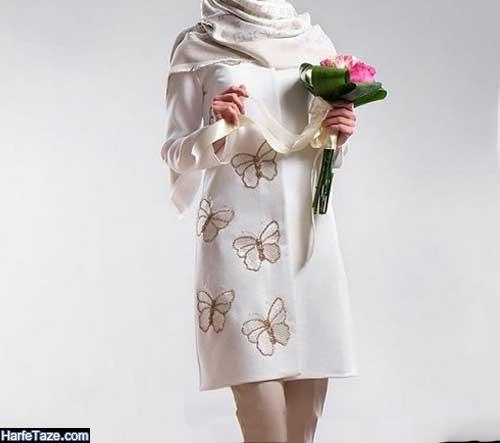مانتو عروس جدید ۲۰۲۰ - ۹۹ + ژورنال بهترین مدلهای مانتو عروس ساده و طرحدار جدید