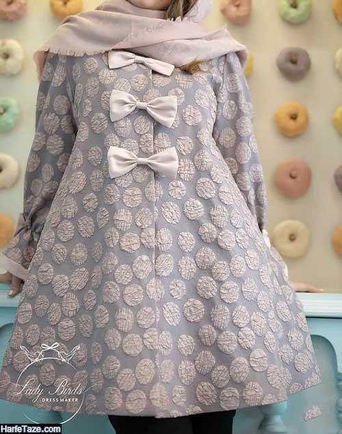 آلبومی از جدیدترین مدل های مانتو عروسکی دخترانه 99
