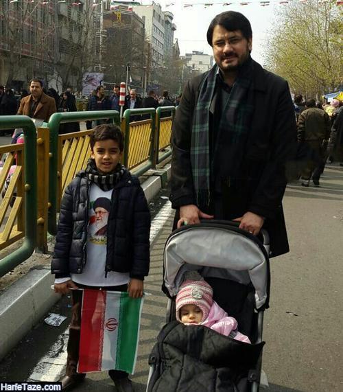 عکس همسر و فرزندان مهرداد بذرپاش